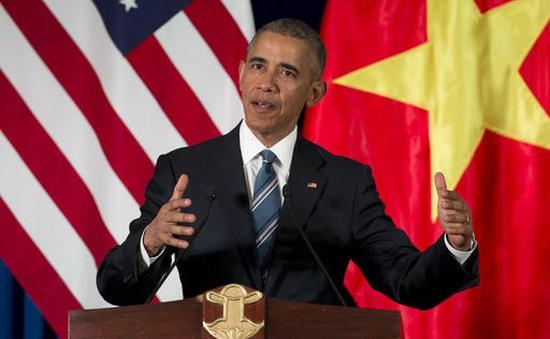 Lý do Tổng thống Obama dỡ bỏ lệnh cấm vận vũ khí với Việt Nam vào phút chót