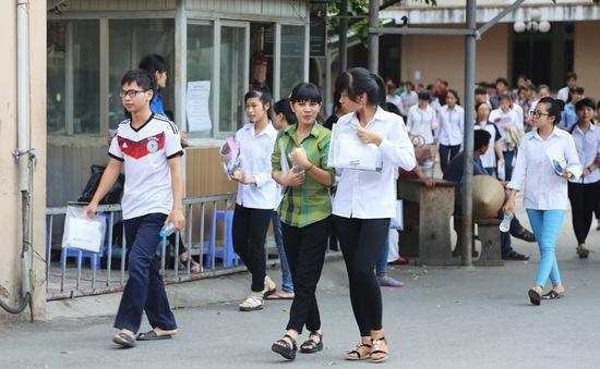 136 thí sinh vi phạm kỷ luật trong ngày thi thứ 2 kì thi THPT quốc gia