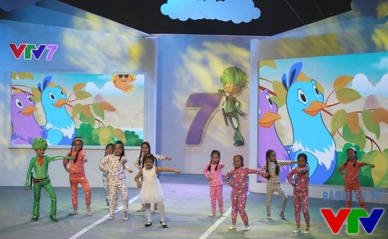 Lễ ra mắt kênh VTV7 ngập tràn sắc màu tuổi thơ