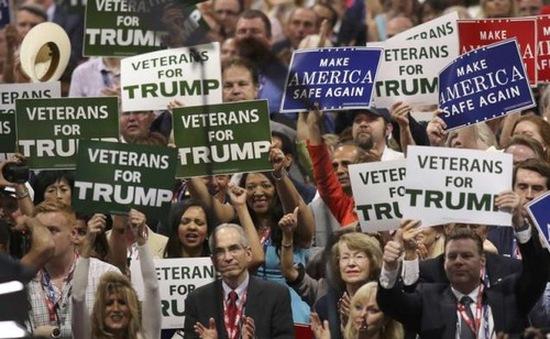 Đại hội đảng Cộng hòa bất ổn do biểu tình phản đối ông Trump