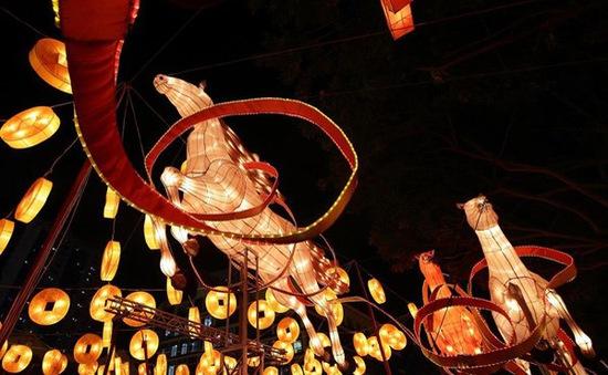 Người dân Singapore và du khách đổ xô tới Chinatown đón năm mới