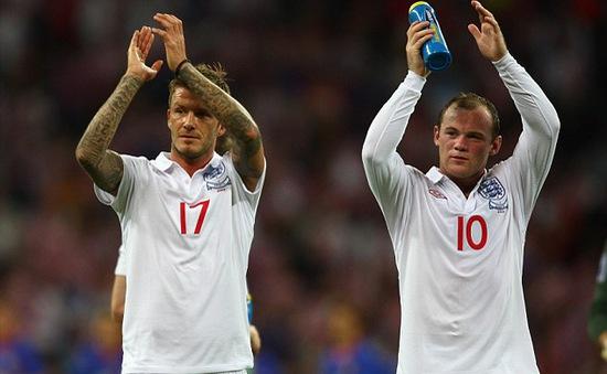 Rooney san bằng kỷ lục của David Beckham tại tuyển Anh