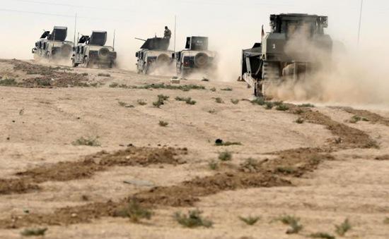 Các lực lượng Iraq tạm dừng chiến dịch tại Mosul