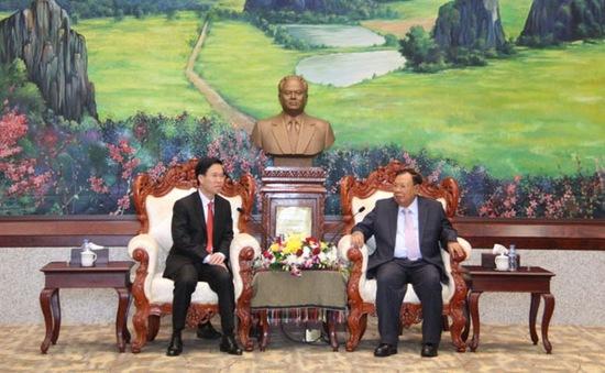 Vun đắp mối quan hệ đoàn kết đặc biệt Việt Nam - Lào lên tầm cao mới