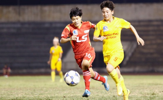 Giải bóng đá nữ VĐQG: Phong Phú Hà Nam gặp khó trước TP.HCM 1