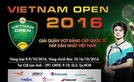 Việt Nam Open 2016 - Giải quần vợt đẳng cấp quốc tế hấp dẫn nhất Việt Nam