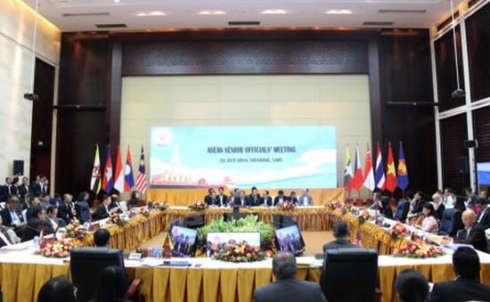Khai mạc Hội nghị quan chức cấp cao ASEAN tại Lào