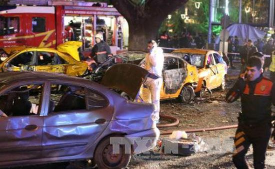 Phiến quân người Kurd nhận trách nhiệm gây ra vụ đánh bom Ankara