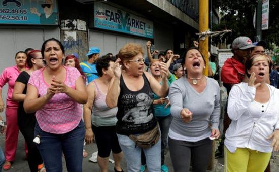 Người dân Venezuela biểu tình đòi thực phẩm