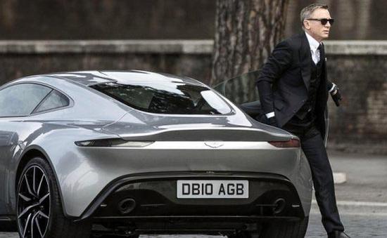 Siêu xe của điệp viên 007 được đem ra đấu giá