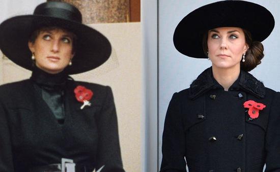 Sự tương đồng giữa bất ngờ giữa Kate Middleton và Công nương Diana