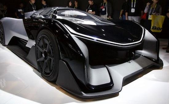 Chiêm ngưỡng siêu xe điện FFZERO1 tại CES 2016