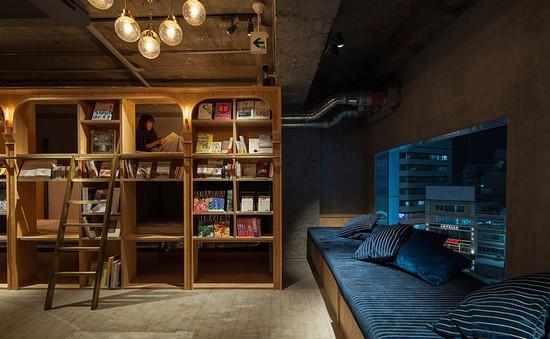 """Khách sạn dành cho """"mọt sách"""" tại Tokyo, Nhật Bản"""