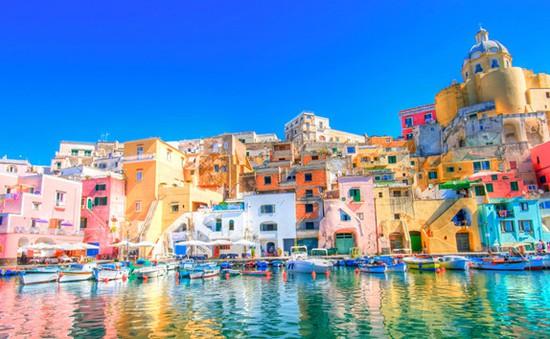Rực rỡ sắc màu phong cảnh thiên nhiên thế giới
