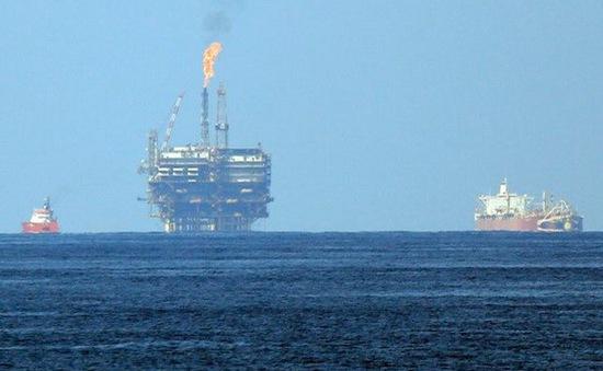 Phát hiện mỏ khí có trữ lượng lớn ở ngoài khơi bờ biển Ai Cập