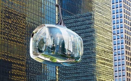 Mỹ : Sẽ có cáp treo trong suốt trên không tại Chicago