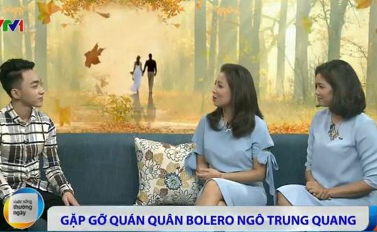 Trung Quang: Tình cờ đến với Thần tượng Bolero qua lời rủ của bạn