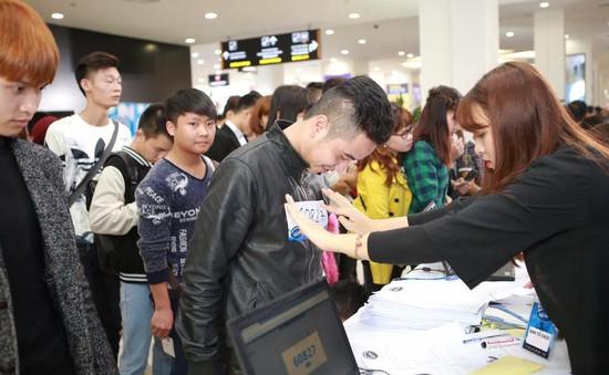 Quá tải thí sinh, Vietnam Idol 2016 chuyển địa điểm sơ tuyển tại TP.HCM