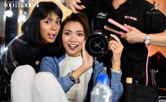 Khoảnh khắc vui nhộn ở hậu trường Asia's Next Top Model 2016
