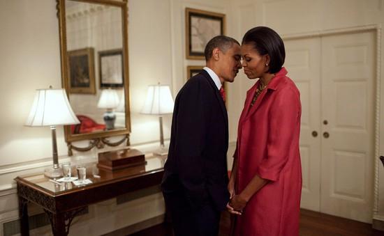 Chuyện tình ngọt ngào của Tổng thống Obama qua ảnh
