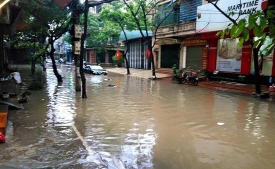 Hà Nội: Xây dựng hầm ngầm, giảm số điểm úng ngập thường xuyên