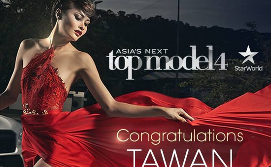 Người đẹp Thái Lan lên ngôi Quán quân Asia' Next Top Model 2016