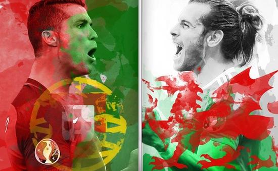 Con số thống kê trước trận bán kết EURO 2016: Bồ Đào Nha – Xứ Wales (2h00 ngày 7/7 trên VTV3)