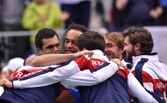 Tsonga thắng ngược, ĐT Pháp giành vé vào bán kết Davis Cup