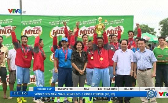 Hội khỏe Phù Đổng toàn quốc 2016: Xác định được đội vô địch môn bóng đá