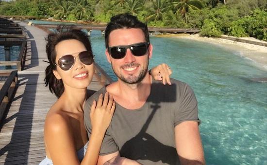 Hà Anh khoe ảnh trăng mật đẹp mê hồn ở thiên đường Maldives