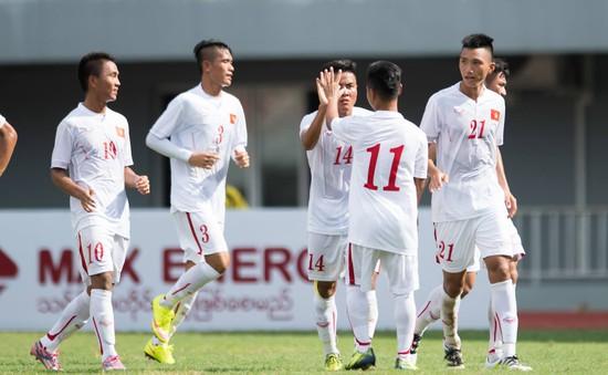 U19 Việt Nam hạ gục U19 Thái Lan ở trận mở màn cúp tứ hùng Myanmar