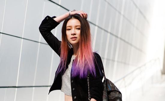 Vẻ đẹp của nàng thơ nổi loạn làng thời trang Hàn Quốc