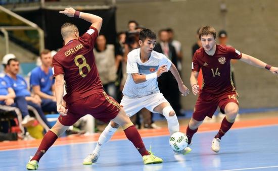 KT, Vòng 1/8 World Cup Futsal 2016, Việt Nam 0-7 Nga: Kết thúc hành trình lịch sử!