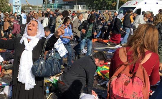 Quốc tế lên án mạnh mẽ vụ đánh bom ở Thổ Nhĩ Kỳ