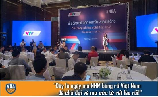 NBA phát sóng trực tiếp tại Việt Nam: Đây là điều NHM bóng rổ mơ ước từ rất lâu rồi!