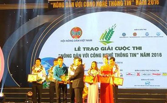 """Chủ nhân dự án cam Cao Phong đạt giải Nhất cuộc thi """"Nông dân với CNTT"""""""