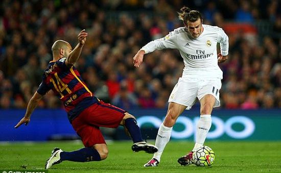 Trọng tài đã cướp trắng bàn thắng Gareth Bale ghi vào lưới Barca như thế nào?