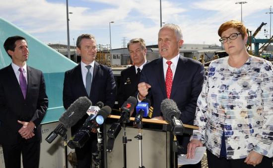 Thủ tướng Australia tuyên bố Pháp thắng thầu đóng tàu ngầm