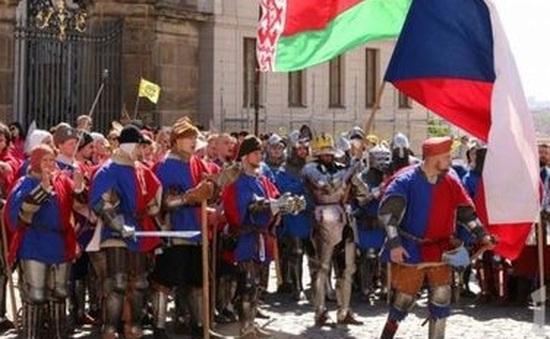Tái hiện chiến trường trung cổ tại Cộng hòa Séc