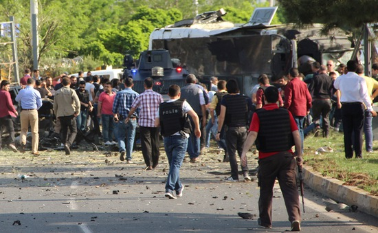 Đánh bom xe khiến 3 người thiệt mạng tại Thổ Nhĩ Kỳ