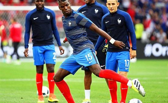EURO 2016: Pháp giành vé đi tiếp vì Pogba, Griezmann không thích ngồi dự bị