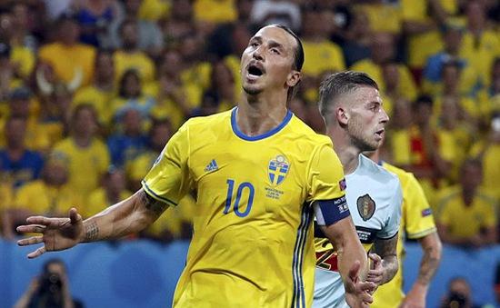 VIDEO EURO 2016, Bỉ 1-0 Thuỵ Điển: Ngày chia tay buồn của Ibra