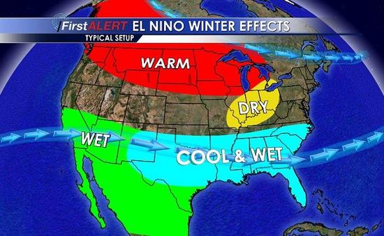 NASA: Chúng ta đang trải qua đỉnh điểm của El Niño