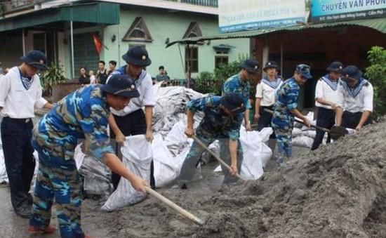 Hơn 200.000 cán bộ, chiến sĩ quân đội sẵn sàng ứng cứu khi bão số 3 đổ bộ