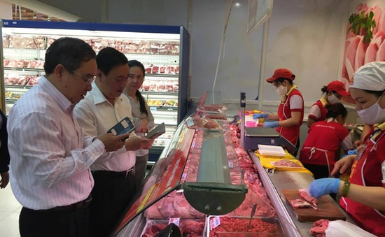 TP.HCM công bố 349 điểm bán thịt lợn truy xuất được nguồn gốc