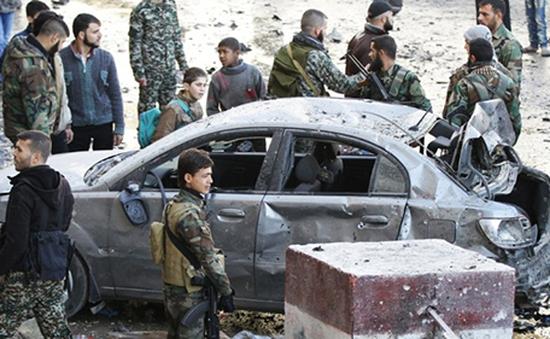 IS nhận trách nhiệm đánh bom tại Damacus, Syria
