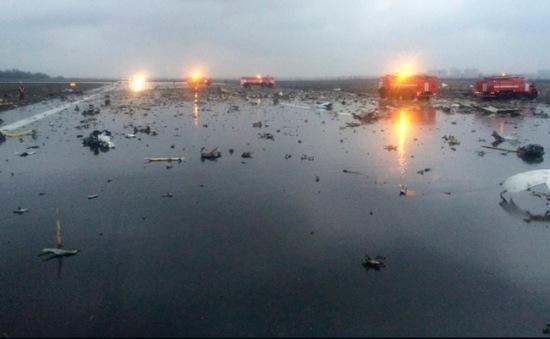 62 người thiệt mạng trong vụ tai nạn máy bay Dubai tại Nga