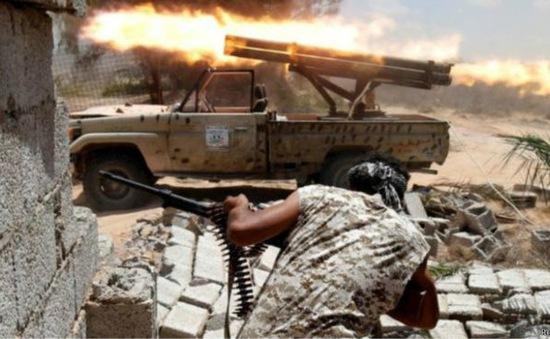 Mỹ không kích IS theo yêu cầu của Libya