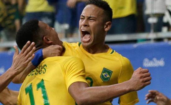 Bóng đá Olympic Rio 2016: Hủy diệt Đan Mạch, Brazil lách cửa hẹp vào tứ kết
