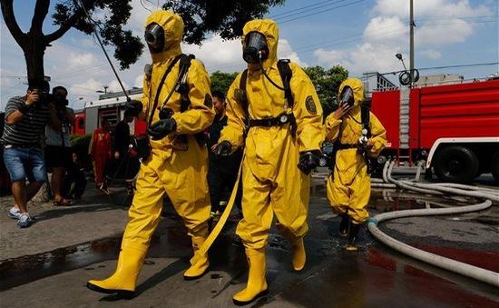Rò rỉ nhà máy hóa chất tại Malaysia, 2 người thiệt mạng